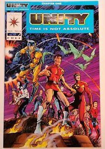 Comic Book - Unity #0 - Aug 1992 - Valiant Comics - Uncertified - VF+