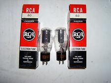 Lot de 2 LAMPES 83 RCA (Redresseuse à vapeur de mercure) N.O.S - N.I.B