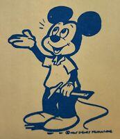 Vintage DISNEY BROCHURE: Disneyland Marketing Analysis - Anaheim CA