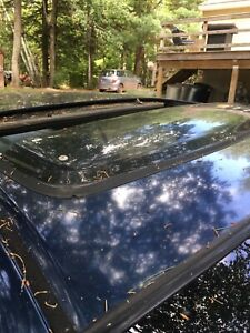 98-02 Honda Accord OEM Sunroof Visor Rare 99 00 01 Coupe Sedan Genuine Moon Roof