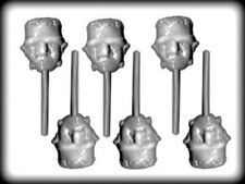 Frankenstein Halloween Lollipop Hard Candy Mold from CK  #3263 - NEW