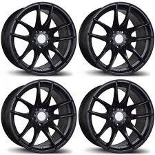 18x9.5 AVID1 AV32 AV-32 5x114.3 22 Black Wheels Rims Set(4)