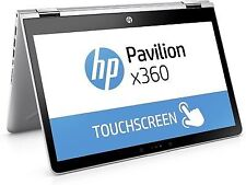 HP Pavilion x360 14 inch (256GB,Core i5 8th Gen.,3.4GHz,8GB) Convertible 2-in-1 Laptop - Silver - 2YU03PA