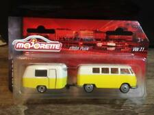 Majorette Vintage cars Limited Edition VW T1 with Trailer Model Diecast