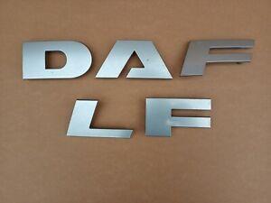 DAF LF Front Grill Grille Badge Logo Lettering