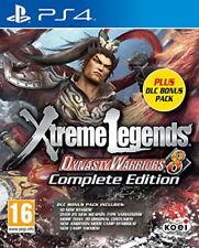 Dynasty Warriors 8 Xtreme Legends Complete Edition DLC Bonus Pack (PS4)