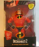 The Incredibles 2 Mr. Incredible Talking Action Figure Disney Pixar - New