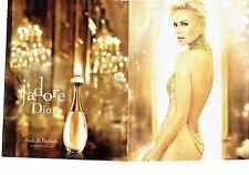 Publicité Advertising 067  2013  J'Adore de Dior (2p) parfum Charlize Theron