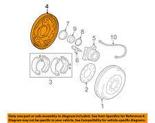 TOYOTA OEM 05-16 Tacoma Rear Brake-Backing Plate Splash Dust Shield 4704404030