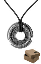 SILVER EDITION Assassins Creed Connor Amulet with BOX Necklace Pendant Medallion