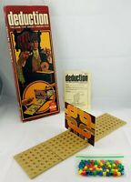 1976 Deduction Game by Ideal Complete in Good Condition FREE SHIPPING