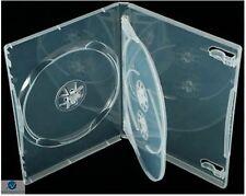 100 x TRIPLE chiaro DVD DA 14 MM SPINA BLOCCO 3 disco vuoto nuovo caso di sostituzione regolare