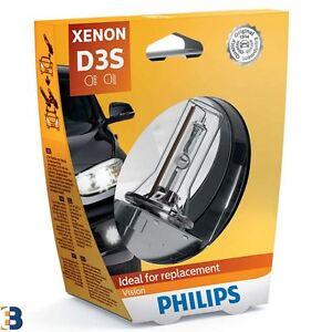 Philips Vision D3S 42V 35W Xenon Auto Lampe 4400K 1 Stück 42403VIS1