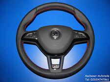 Skoda Octavia VR Multi Function Airbag Hole Leather Steering Wheel