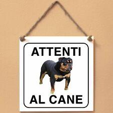 Old English Bulldog 3 Attenti al cane Targa cane cartello ceramic tiles