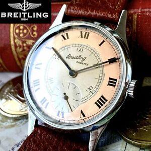 BREITLING vintage watch 1950s men's manual winding case diameter 45 mm Japan