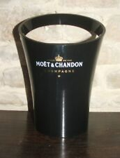 Moet and Chandon Ice Bucket, Champagne cooler Jean Marc Gady Black