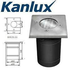 Kanlux Mains Ground Recessed Walk Drive Over Outdoor Driveway Light Fitting IP67
