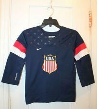 NIKE Team USA Olympic Hockey Jersey Children's Size 6