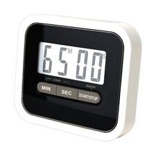 Minuteur Electronique Magnétique Cuisine avec écran LED Noir et Blanc