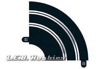 Scalextric Track Radius 1 Hairpin Curve 90º 1:32 slot car track, 2/pk C8201