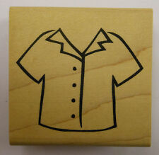 Short Sleeved Shirt Rubber Stamp - DeNami