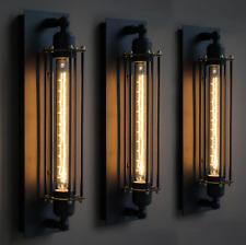 Wandlampen Vintage Retro Cafés Wandleuchter Tube-Käfig Loft Beleuchtung warmweiß
