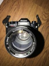 Ricoh KR-5 Super 35mm Camera With Auto Zoom Lens