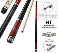 Champion Inlaid Custom Billiard NA Pool Cue Stick, Hybrid Shaft, Uni-loc Joint