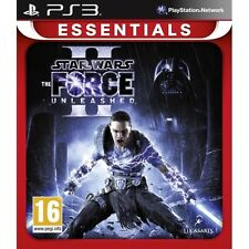 Star Wars The Force Unleashed II 2 (Essentials) Game PS3 - Brand New!