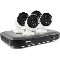 Swann 8-Ch 5MP 2TB DVR Security Surveillance System w/ 4 Thermal Sensing Cameras