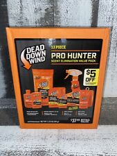 Dead Down Wind 13 Piece Pro Hunter Scent Elimination Odor Control Value Pack New