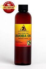 JOJOBA GOLDEN OIL ORGANIC by H&B Oils Center UNREFINED COLD PRESSED PURE 4 OZ