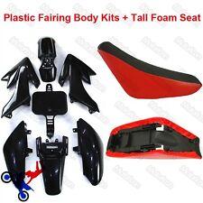 CARENA KIT CORPO + schiuma del sedile Per Honda CRF50 XR50 Pit Dirt Bike 50-160cc Taotao