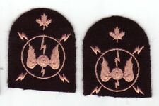 Canadian Armed Forces Navy Electronic Communications trade patches badges