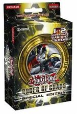 Yugioh Order of Chaos (ORCS) Special Edition Pack (3 Packs and 1 Promo Card)