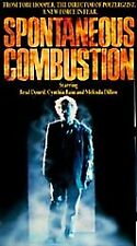 Spontaneous Combustion (VHS, 1990) Brad Dourif, Cynthia Bain, Tobe Hooper