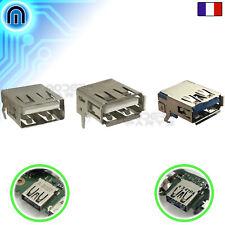 Connecteur USB 2.0 USB 3.0 Type A Femelle 90° à souder pour carte mère 4pin 9pin