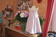 robe cyrillus toute doublee 4 ans colorette 55% DE LIN etat parfait