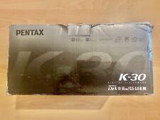 PENTAX K30 DSLR CAMERA BODY WITH 18-55mm LENS  KIT BLACK 16MP
