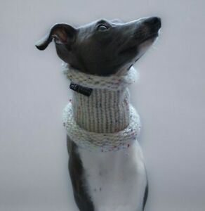 Knitted Snood for Italian Greyhound/Whippet
