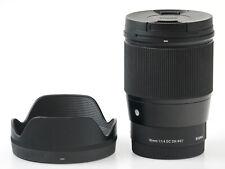 Sigma 16mm f/1.4 DC DN Contemporary Lens for Sony E Mount Cameras