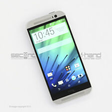 HTC One M8 16GB Glacial Silver (Unlocked) 1 Year Warranty Acceptable Condition