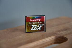 Transcend CompactFlash CF Karte 32GB 600x Speicherkarte