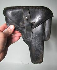 West German Germany Post WW2 1950's Police Leather Holster for FN Hi Power