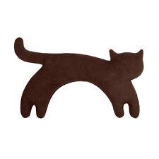 Leschi Die Katze Minina Wärmekissen stehend schokolade 39 x 17 cm, h 4 cm