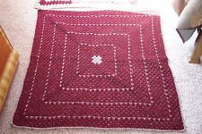 NEW Baby Crochet Blanket Hand Made KeepSake for Baby's Baby's