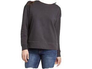 Universal Thread Goods Co. Womens Crew Sweatshirt Sz S Gray