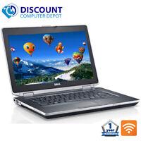 """Dell Latitude 14.1"""" Laptop Computer PC i3 4GB 500GB HD HDMI Wifi DVD Windows 10"""