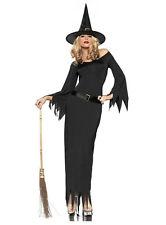 Black Witch Costume, Fancy Dress - One Size (AU 6 - 12)